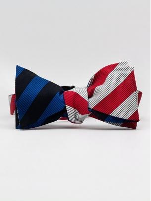 "Галстук-бабочка ""2 Stripes"""