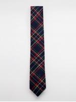 "Узкий галстук ""Blue Tartan"""