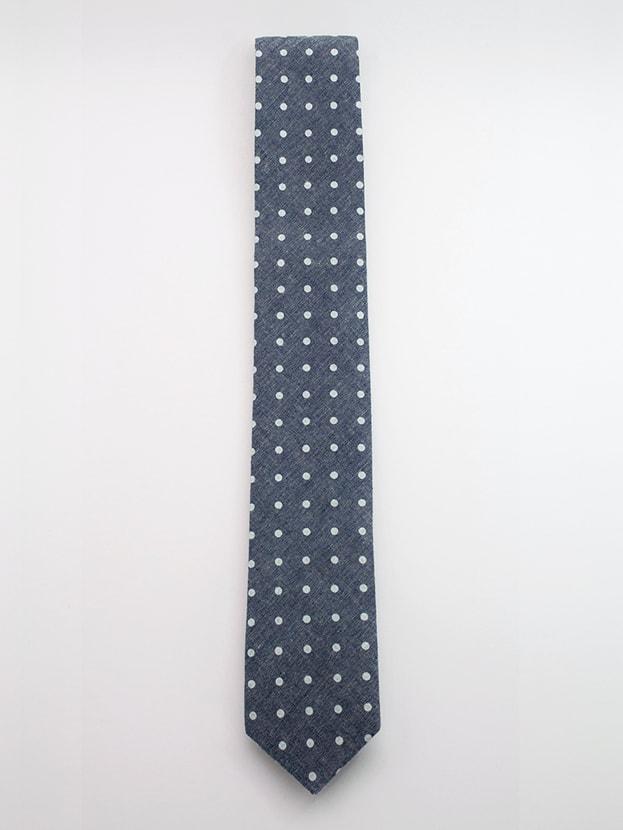 """Узкий галстук """"Dots"""""""