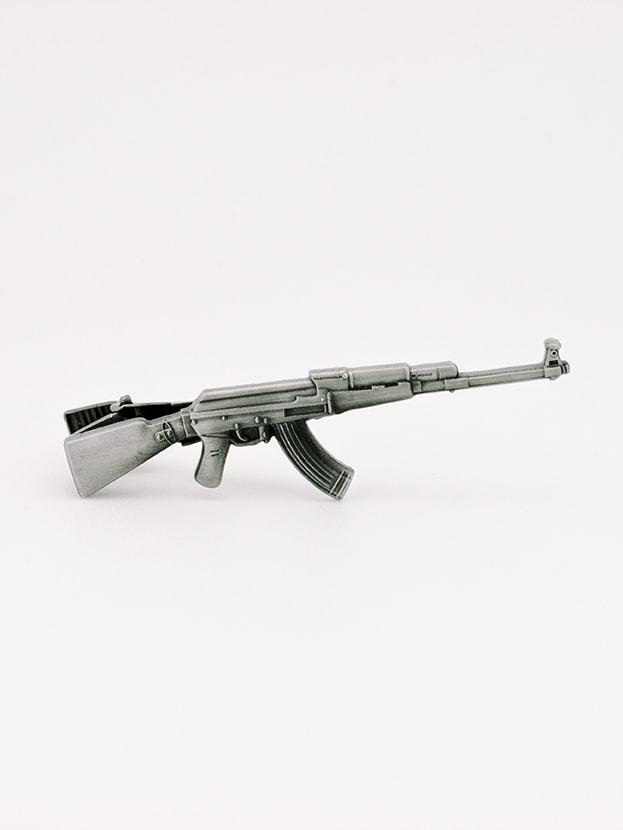 """Зажим для галстука """"Silver AK-74"""""""