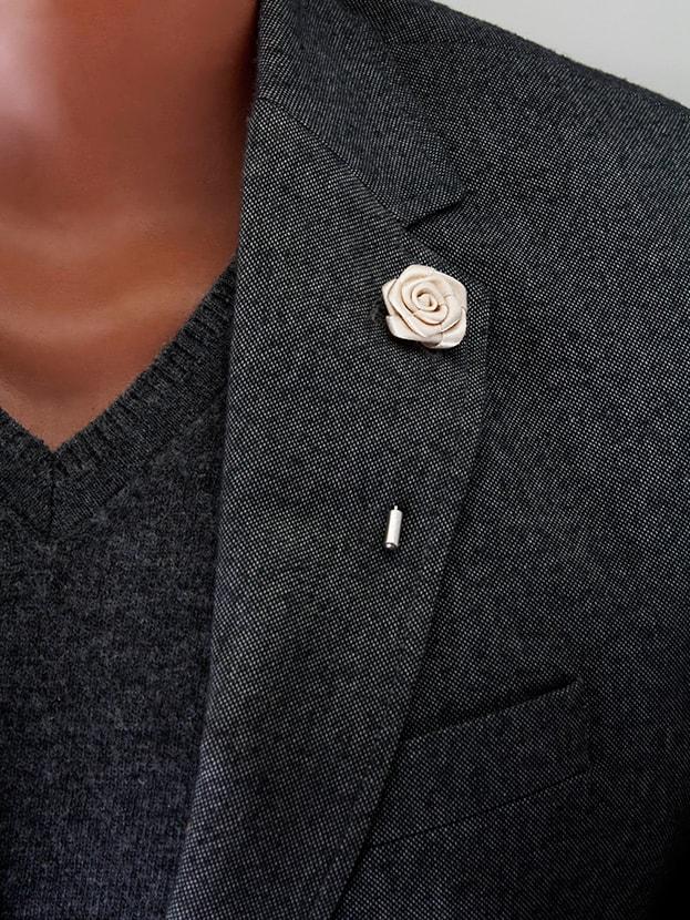 """Цветок в лацкан пиджака """"Mini Rose"""""""